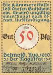 Germany, 50 Pfennig, 268.5a