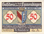 Germany, 50 Pfennig, 337.1