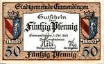 Germany, 50 Pfennig, E17.8