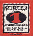 Germany, 1 Pfennig, F19.8a