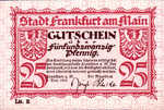 Germany, 25 Pfennig, F16.7