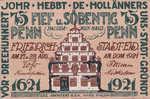 Germany, 75 Pfennig, 395.1