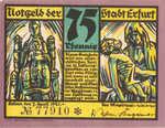 Germany, 75 Pfennig, 344.5