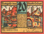 Germany, 20 Pfennig, 344.6