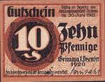 Germany, 10 Pfennig, G45.3a