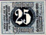 Germany, 25 Pfennig, G45.3b