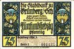Germany, 75 Pfennig, 490.1a