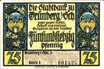 Germany, 75 Pfennig, 490.1a