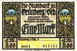 Germany, 1 Mark, 490.1a