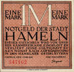 Germany, 1 Mark, 566.1a