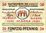 Germany, 50 Pfennig, H1.6