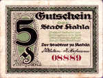 Germany, 5 Pfennig, K1.8
