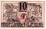 Germany, 10 Pfennig, O19.5a