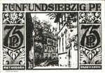 Germany, 75 Pfennig, 1043.6