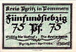 Germany, 75 Pfennig, 1082.2a