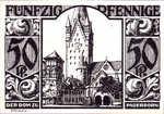 Germany, 50 Pfennig, 1043.4