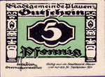 Germany, 5 Pfennig, P26.6c