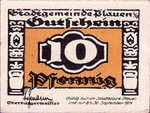 Germany, 10 Pfennig, P26.6d