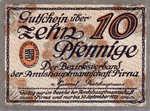 Germany, 10 Pfennig, P23.4