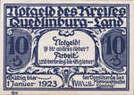 Germany, 10 Pfennig, 1089.1a