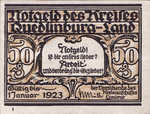 Germany, 50 Pfennig, 1089.1a