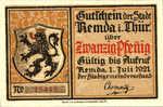 Germany, 20 Pfennig, 1115.1c