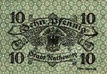 Germany, 10 Pfennig, R8.1b