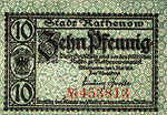 Germany, 10 Pfennig, R8.1b