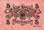 Germany, 5 Pfennig, R8.3