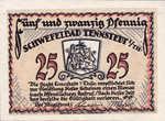 Germany, 25 Pfennig, 1314.1