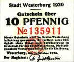 Germany, 10 Pfennig, W33.5a