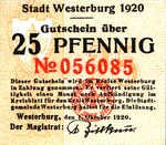 Germany, 25 Pfennig, W33.5b