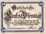 Germany, 50 Pfennig, Z22.1b