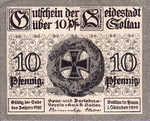 Germany, 10 Pfennig,