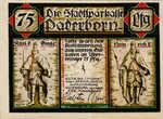 Germany, 75 Pfennig, 1043.2