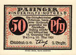 Germany, 50 Pfennig, 1050.5a
