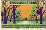 Germany, 10 Pfennig, 1215.1