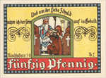 Germany, 50 Pfennig, 866.1