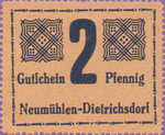 Germany, 2 Pfennig, 953.1a
