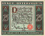 Germany, 25 Pfennig, 1033.2