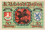 Germany, 50 Pfennig, 1050.1e