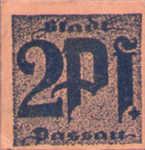 Germany, 2 Pfennig, P7.6k