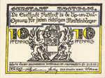 Germany, 10 Pfennig, 1138.1