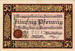 Germany, 50 Pfennig, R51.1a