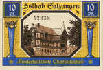 Germany, 10 Pfennig, 1160.1a