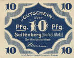 Germany, 10 Pfennig, S70.4b