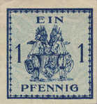 Germany, 1 Pfennig,