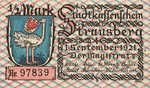 Germany, 0.5 Mark, 1281.1