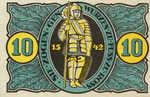 Germany, 10 Pfennig, 1331.2