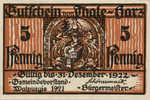 Germany, 5 Pfennig, 1320.4a